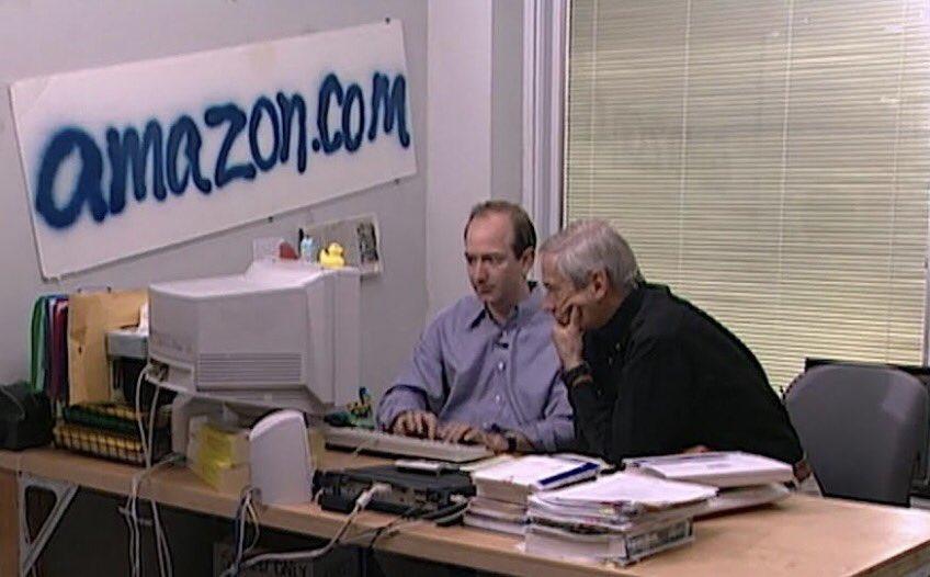 Początki biznesu Amazon.com. Zdjęcie znalezione w sieci.