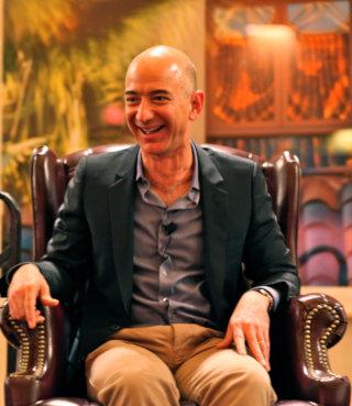 Jeff Bezos - prezes, dyrektor generalny i przewodniczący zarządu Amazon.com
