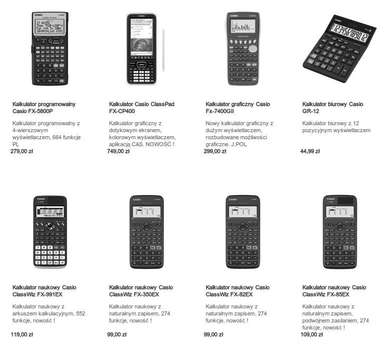 Kalkulatory w cenie komputera poleasingowego