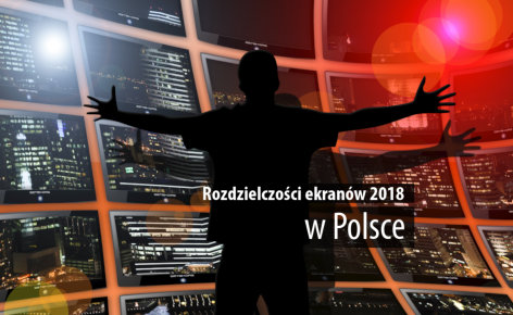 Najpopularniejsze rozdzielczości ekranu w Polsce (badanie, październik 2018)