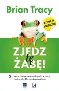 Książka Zjedz tę żabę. Brian Tracy.