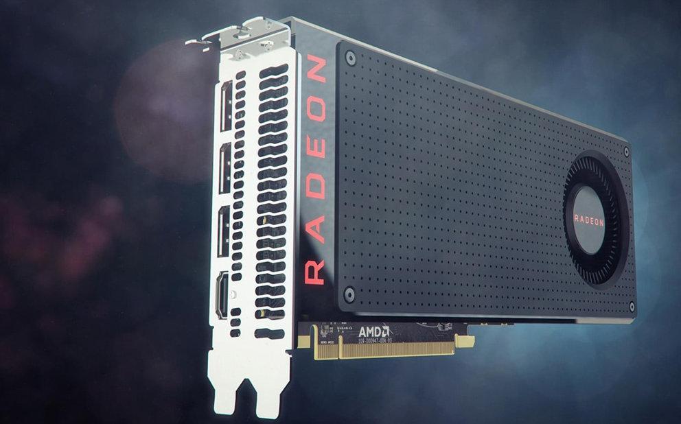 Karta graficzna AMD ATI Radeon. Zdjęcie z oficjalnej strony www.amd.com