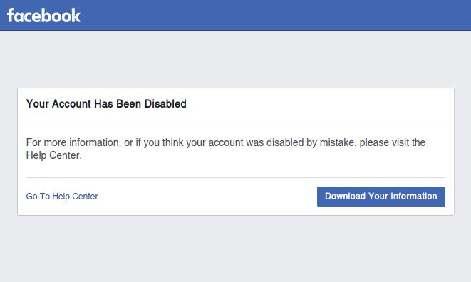 Zablokowane przez Facebook konto informatyka i blogera Sergiusza Diundyka