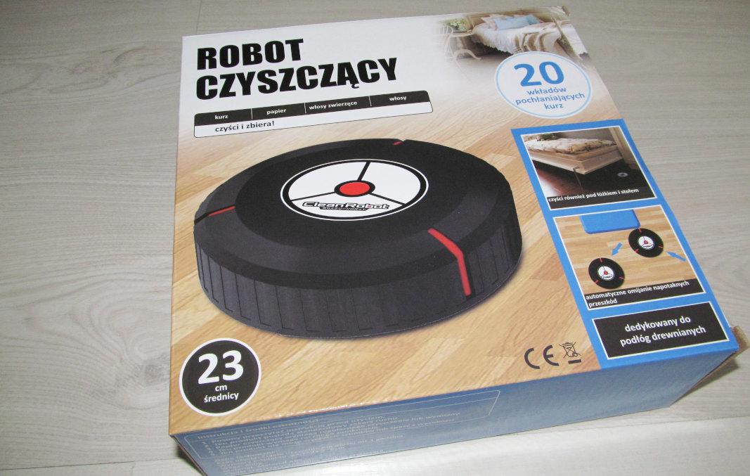 Robot odkurzacz - opakowanie