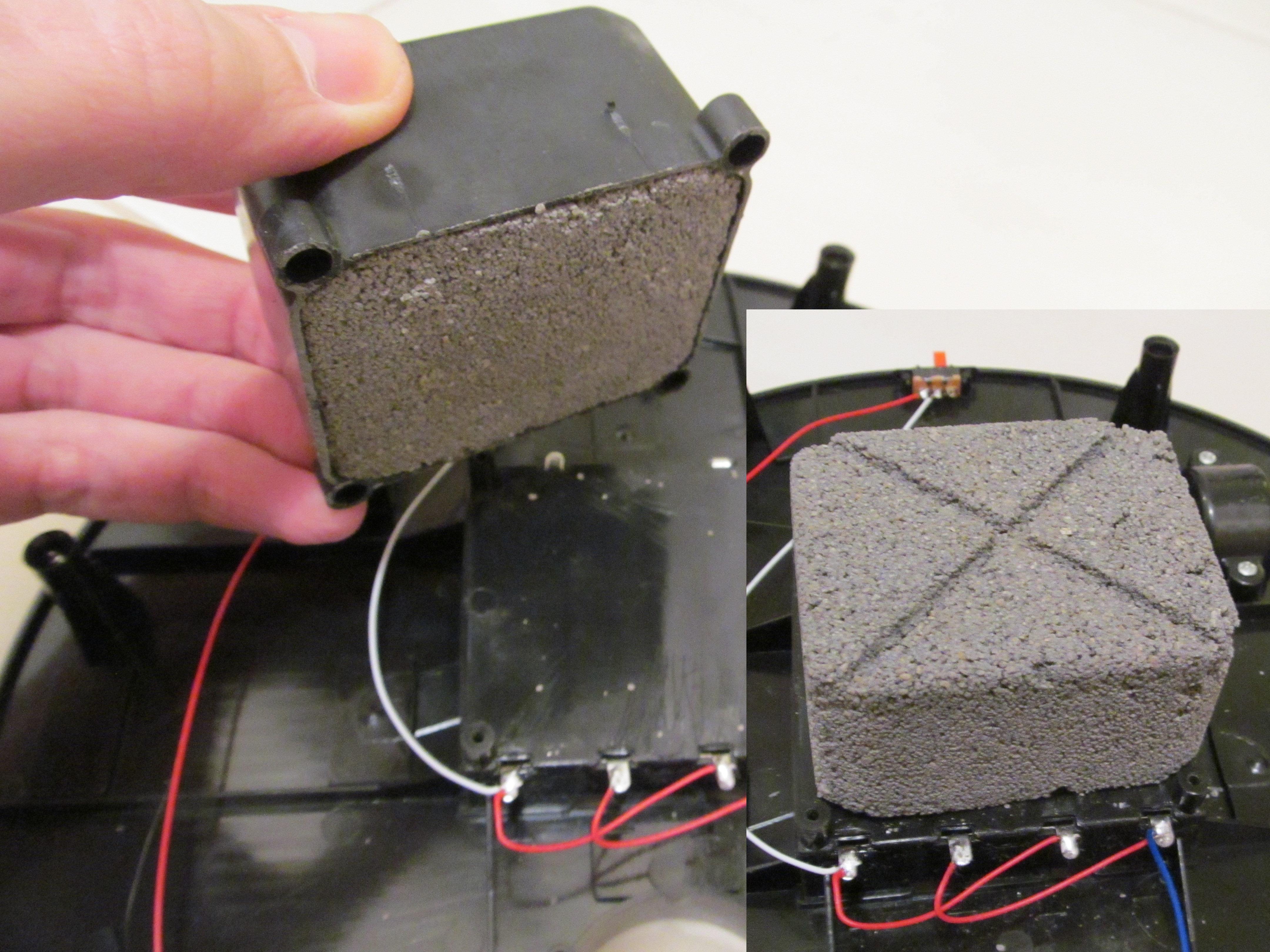 Robot odkurzacz - moduł sterowania