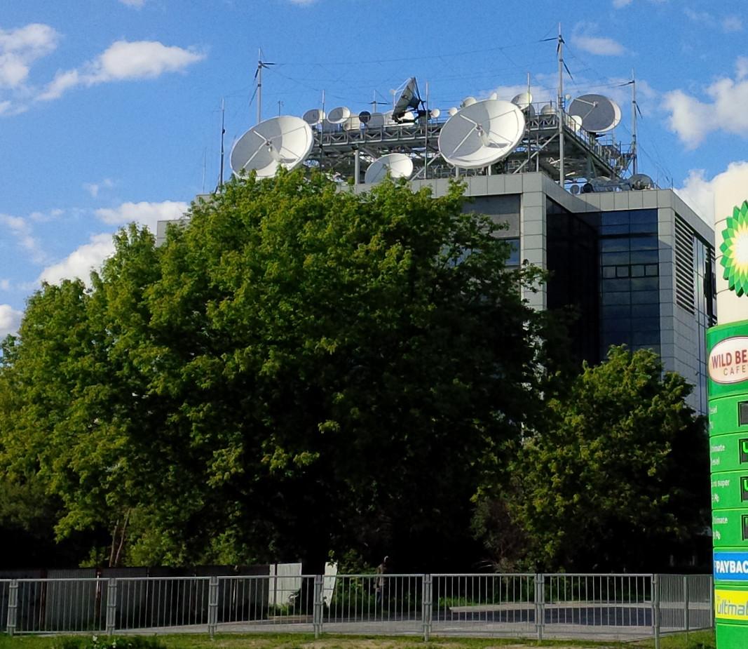 Anteny w Warszawie