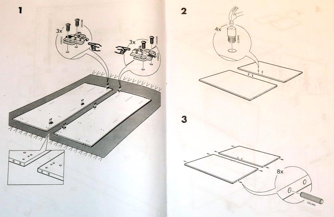 Instrukcja do szafy IKEA (1)