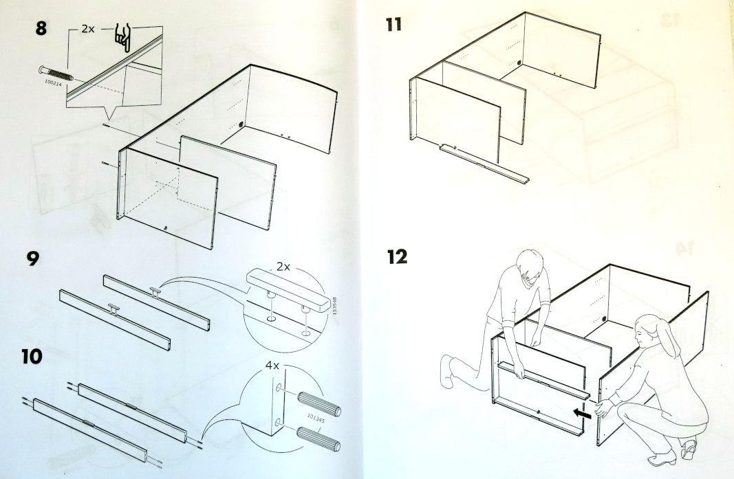 Instrukcja do szafy IKEA (3)
