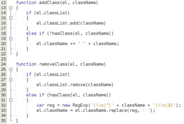 Typowy kod w JavaScript