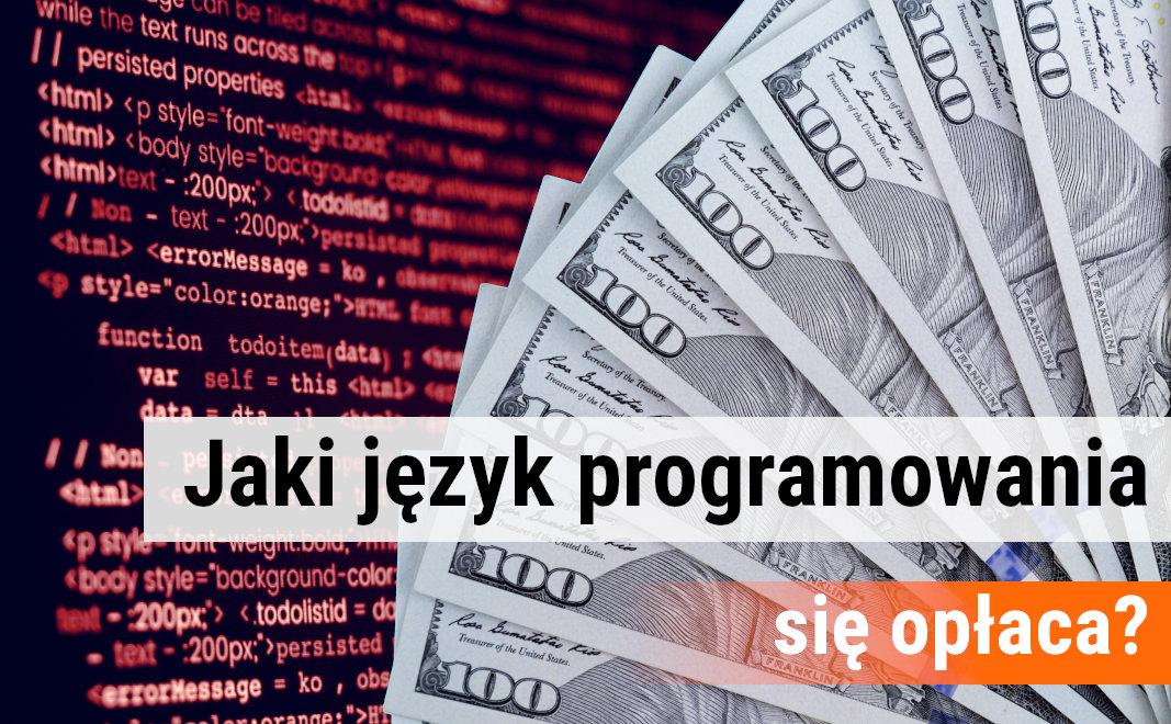 Badanie: zarobki programistów.